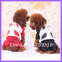 New pet dog autumn and winter clothes single-layer teddy style clothing pet dog supplies dog clothes