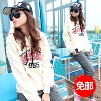 2013 100% Women spring cotton fashion casual set sportswear