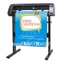 Free shipping ! 2013 hot sale 24 inch vinyl cutter , sticker cutter plotter ,63cm wide graph plotter cutting plotter