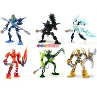 Genuine have high educational toy building blocks assembled Bionicle Hero Factory interplanetary robot 6 90B 91B