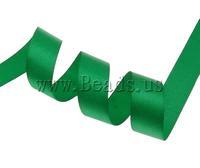 Free shipping!!!Satin Ribbon,Punk Style, deep green, 2cm, Length:1250 Yard, 50PCs/Lot, Sold By Lot