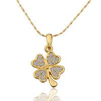 Unique necklaces Designs Fashion Women necklaces 18K Gold Plate necklace With Austrian Crystal Element 582