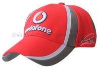 2014 New Mclaren fans vodafone F1 racing car motorcycle motobike cotton baseball adjustable sports hat cap