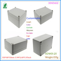 Plastic enclosure box for electronic instrument enclosure plastic waterproof box 100*68*50mm 3.94*2.68*1.97inch