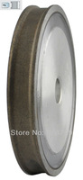 Free Shipping Good Quality Diamond Grinding Wheel Abrasive Wheel(flat with arris edge), D100*T4*H22mm, Grit 240#