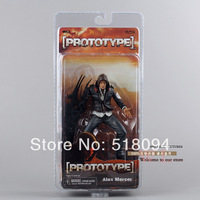 "Free Shipping NECA Prototype Alex Mercer PVC Action Figure Collection Model Toy 7""18CM MVFG114"
