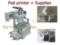 Pad printing machine start up kits: Pad printer + rubber pads + custom plate die