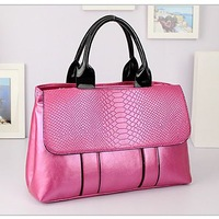 wholesale PU women handbags made in china free shipping