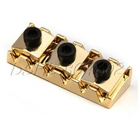 Gold Guitar Lock nut 42mm For Double Lock System Bridge