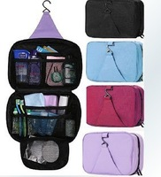 Free Shipping cosmetic bags large capacity organizer outdoor hanging wash bag travel storage cosmetic sorting bags 2pcs/lot 021