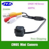 "JYA 4006 1/4"" 420TVL CMOS 3.7MM CCTV mini Pinhole Security Color Camera"