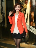 2014 New Fashion Ladies' suit coat,Elegant slim women's business suit Solid color blazer jacket Free shipping SW726