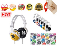 Mixstyle earphones headset mp3 mp4 headsets headphone for music,Free shipping