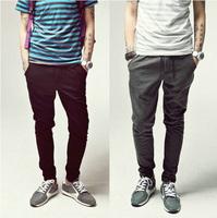2014 New Sport Hip Hop Dance Men Pants/Brand Designer Cotton Men Harem Pants/Full Length Casual Trousers Men Clothing