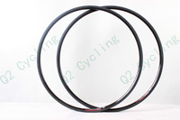 Light  Full Carbon Fiber 20mm Clincher  Road Bike Rim With High TG Resin To Make Rim Brake Zone Stiffer