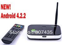 CS918S CS918S   Android 4.2.2  TV   BOX Bulit-in 5.0 MEGA APIXEL Web camera and Mic Bulit-in Bluetooth