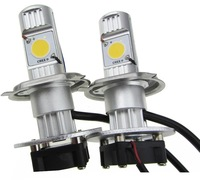 Newest Car/Truck H4 2200LM 50W 12V Cree Led Chips HeadLight 5000k