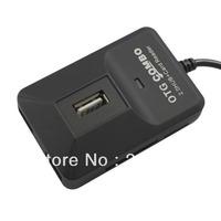 NewBlack Multi-function OTG Smart Combo USB 2.0 Hub+Card Reader for Smart phone
