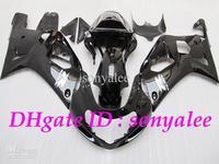 7gifts+ high quality gloss black body for SUZUKI GSXR 600 GSXR600 GSXR750 01 03 2001 2002 2003 ABS fairing kit e788773