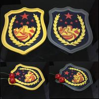 Car slip-resistant pad vehienlar slip-resistant pad mobile phone pad national flag map badge cartoon emblem