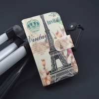 Pattern Leather Flip Case for Samsung Galaxy express i8730 Cover with Card Holder,Free Shipping