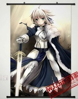 Fate zero saber 90 60 - 021 decorative painting mural cloth paintings