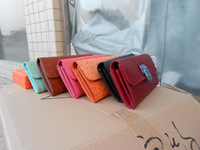 2014 fashion Genuine Leather michaelers  Wallet Purse for iphone 4//4S/5/5C/5S for Galaxy S3 S4 with retail box 10pcs/lot