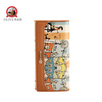 new arrival fashion female wallet long design women's wallet  cartoon coin purse freeshipping