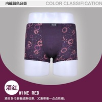 10PCS Hot Fashion Sexy Cotton Bamboo Fiber Men's Underwear Boxers Underwear Boxer Shorts Mens,High quality! Free shipping.