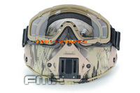 FMA SI-Ballistic Goggle Suitable for Helmet Goggle DE+Free shipping(SKU12050014)