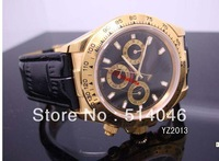 Wholesale - Luxury MEN  2TONE GOLD/STEEL COSMOGRAPH  WATCH,automatic mechanical WATCH for MEN
