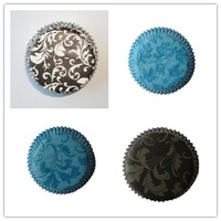 1200 pcs  damask assorted for wedding  party  cupcake liners paper muffin cases