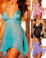 Sexy Lingerie Nightwear/underwear Ladies sleepwear Baby doll+G string