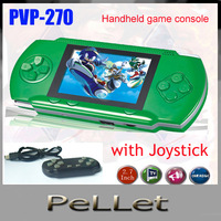 PVP-270 8 bit game console handle electronic video game player with joystick,free shipping