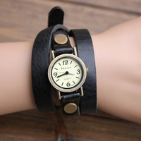 Spirally-wound strap female watch women's small dial ladies watch mens watch vintage bracelet