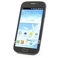 New Arrival S9082 i9500 S4 Android Phone 5 inch Screen SC6820 1GHz Dual SIM GSM WiFi Bluetooth Russian Menu