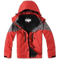 Free shipping! 2013 new outdoor climbing clothing two sport coats Waterproof Winter men's ski jacket