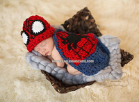 Cute !! Lovely Babies  batman hat set Posh Petti Crochet pattern knight helmet hat Fashion crochet hats for baby- 12sets/lot