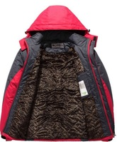 HOT ! Free shipping 2013 autumn winter Newfund.Waterproof, breathable Outdoor, mountain hiking, man jacket coat lining+hood0.85