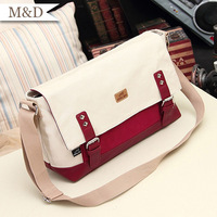 2013 New Fahion Women Canvas Handbag Korean Style Shoulder Bag Hotsale Wommen Messenger Bag Convenient Bag wholesale
