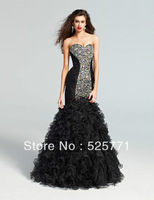 Hot style New Sexy New Long Mermaid High Quality Pageant Evening Prom Dresses Custom Size