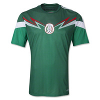 Mexico 2014 Home Soccer Jersey