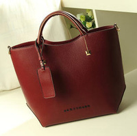 2014 New High-Grade Leather Handbag Fashion Leisure Shoulder Bag Cross Grain Women Messenger Bag Ladies Bag