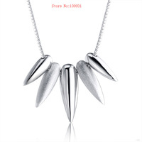 Fashion Necklace Genuine 925 Sterling Silve  Free Shipping