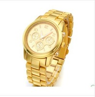 2013 hot sale men stainless steel watches women dress watches women rhinestone watches famous brand design luxury watch