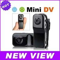 New Arrival Portable Sports Video Mini DVR Recorder Camcorder Camera MD80 With Bracket Clip Free Shipping