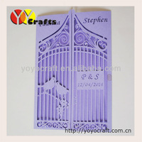 New Arrival Various of Colors Wedding Party Decoration wedding decoration & gift invitations cards with free logo