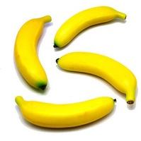 Simulation foam fruits banana for display
