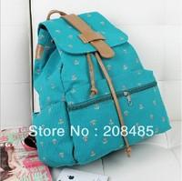 Fashion Cute Flower School Knapsacks For Teenage Girl .Sweet Harajuku Canvas Bookbag/ Backpacks,Shoulder Bags
