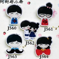 MINIMUM order $20,MIX order accepted.new cute high quality new cute cartoon safety pins wholesale jewelry dropship free shipping